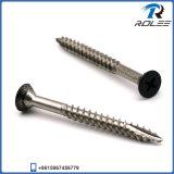 Kwaliteit 188/304/316 de Schroeven van het Roestvrij staal