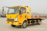 真新しいHOWO 6の荷車引き右駆動機構の小さい貨物自動車のトラック(116HP)