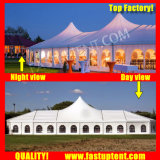 Высокое пиковое смешанных палатку в рамке для церкви в размером 10x18m 10 м x 18 м 10 18 18X10 18 м x 10 м