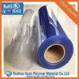 Film di materia plastica libero del PVC 0.5mm per l'imballaggio delle mercanzie di Thermoforming