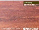 Vinil impermeável PVC reciclado de pranchas Clique Flooring
