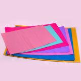 Bolso plástico del embalaje de la ropa del color con el sello adhesivo