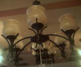 Eisen-handgemachte Lampe (I802/6P)