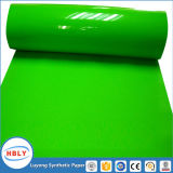 Introduzir o molde que etiqueta a cubeta plástica de papel sintética do petróleo