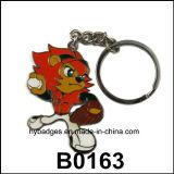 Peças do anel chave, chaveiro lindo dos desenhos animados (GZHY-KA-031)