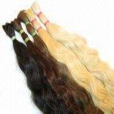 Cabelo reto natural peruano 20inches de cabelo humano do Virgin