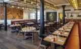 (SD3012) 테이블을%s 가진 대중음식점 다방 가구를 위한 현대 나무로 되는 식사 의자