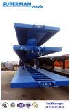 40FT 2 Wellen-Behälter-Transport-Ladung-Flachbett-LKW-Schlussteil