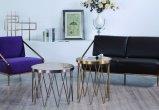 Tavolino da salotto domestico della mobilia con la parte superiore del marmo della natura