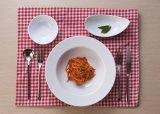 100% de vaisselle en mélamine - plat de condiment blanc / plateau de dessert / vaisselle en mélamine de haute qualité (WT4303)