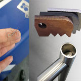 máquina de corte de fibra a laser de metal CNC com Blindagem de Segurança