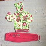 スクエア6212子供の衣服の羊毛かフランスのテリーGilrのスポーツのスーツ(hoodies+pantのファスナーを締めなさい)