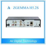 Tweeling SatellietTuners Receiver H. 265 Hevc Steun Zgemma H5.2s met E2 OS