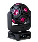 12 PCS RGB LED Fußball-Effekt-helle Stufe-Leuchte