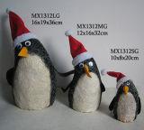 O Natal Decoration-Penguin (MX1312G)