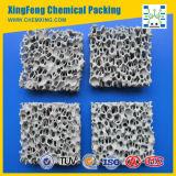 Filtro di ceramica dalla gomma piuma del carburo di silicone per il pezzo fuso della lega del ferro o del ferro