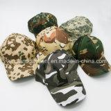 綿のドリルの軍隊の/Militaryデジタルのカムフラージュプリント野球帽