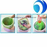 Примите мешок отброса PE изготовленный на заказ заказа и печатание с Drawstring