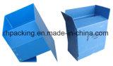 Quatre cadres ouverts/cadre recyclable 4mm de pliage de cartons de fruit de Corflute de polypropylène 5mm