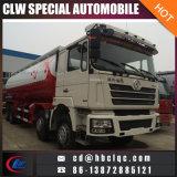 Caminhão dos silos do pó de maioria do caminhão do transporte do cimento de China Shacman 48mt