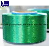 염색되는 FDY 폴리에스테 필라멘트 털실 60d/24f 진한 액체