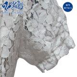 Manga Corta gris con cuello en V la perspectiva de vaciamiento Sexy blusa de encaje de flores