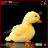 Het realistische Gevulde Dierlijke Zachte Stuk speelgoed van de Eend van de Pluche Gele voor de Jonge geitjes van de Baby