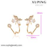 92730 цвет милое Women'earring золота ювелирных изделий 18k способа