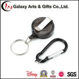 ABS Material Identifikation-einziehbare Abzeichen-Halter-Bandspule mit Carabiner