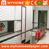 Сделано в панели стены строительного материала 3D материального украшения PVC Китая водоустойчивой