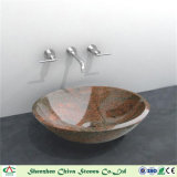 Естественный каменный тазик мытья тазика гранита раковины для кухни/ванной комнаты