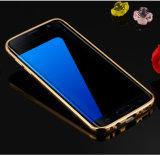 アルミニウム金属ミラーSamsungギャラクシーS8のための豊富なフレームの裏表紙の携帯電話の箱