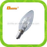 Vela ahorro de energía C35 eco halógeno E14 28W lámpara