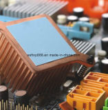 Sin silicona almohadilla térmica 2W para TV equivalente Bergquist silicona RoHS Aislante ISO TS16949 Fabricante