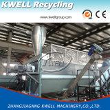 Ligne concasseuse/de lavage de film de PP/PE/film agricole réutilisant la machine