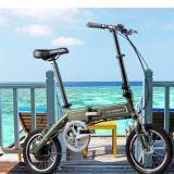 Новейшие 250W велосипед складной электрический велосипед с педали тормоза
