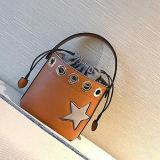 Bolsa de couro do estilo da cubeta do saco de ombro do plutônio da alta qualidade para as mulheres Sy8467