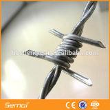 二重ねじれの高く抗張熱い浸された電流を通された鋼鉄有刺鉄線