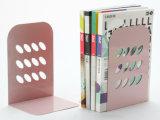 밝은 분홍색 책상용 부속품 금속 메시 문구용품 북엔드 사무실 책상 부속품