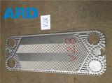 Plaque d'échangeur de chaleur de plaque de Vicarb V4 V60 V28