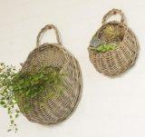 (BC-WF1004) Cesta natural hecha a mano de la flor del sauce de la alta calidad