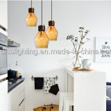 훈장 실내 점화 현대 색깔 유리제 펀던트 램프