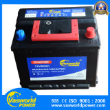 DIN 12V62ah 나이지리아 시장을%s 유지 보수가 필요 없는 자동차 배터리