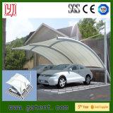 Dossel inoxidável do estacionamento do carro da tampa do telhado do frame de aço PVDF para a venda