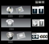 IP67 im Freien 3W LED Tiefbaubeleuchtung, LED-Plattform-Lichter, Inground Licht