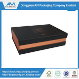 Clamshell Gift Box com Hinges Deluxe Chocolate Box Packaging Craft com fecho de fita