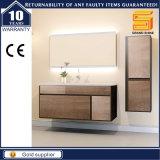 Móveis de gabinete de banheiro de MDF de melamina com espelho LED