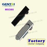 La tapa Ms380 vende el bloqueo de mortaja portable barato con los claves de cobre amarillo