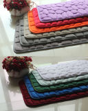 ポリエステルメモリ泡のスリップ防止ドアか床または領域または浴室のカーペットのマットまたは敷物