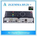 2017 Hete Nieuwe Producten dvb-S2X Zgemma H5.2s+ dvb-S2+ dvb-S2X/T2/C Hevc H. 265 SatellietOntvanger Zgemma H5.2s plus